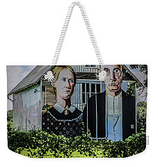 Gothic Barn Weekender Tote Bag by Ray Congrove