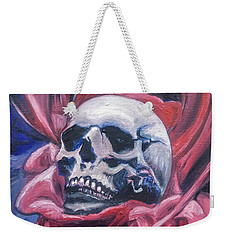 Weekender Tote Bag featuring the painting Gothic Romance by Isabella F Abbie Shores FRSA