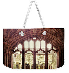 Gothic Window Weekender Tote Bag by Jill Battaglia