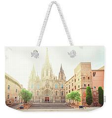 Gotic Cathedral  Of Barcelona Weekender Tote Bag