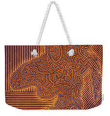 Gotta Draw The Line Somewhere Weekender Tote Bag