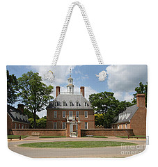 Governers Palace - Williamsburg Va Weekender Tote Bag