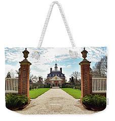 Governor's Palace In Williamsburg, Virginia Weekender Tote Bag