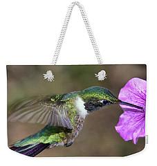 Grace In Green And Purple Weekender Tote Bag
