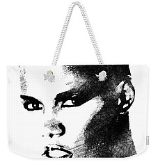 Grace Jones Bw Portrait Weekender Tote Bag