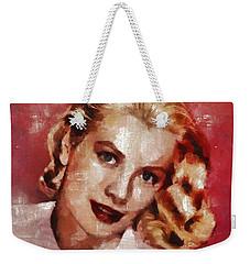 Grace Kelly, Actress And Princess Weekender Tote Bag
