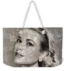 Grace Kelly By Mary Bassett Weekender Tote Bag