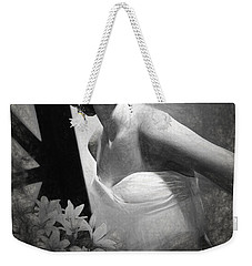 Grace Kelly Drawing Weekender Tote Bag by Quim Abella