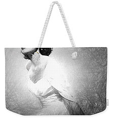 Grace Kelly Sketch Weekender Tote Bag by Quim Abella