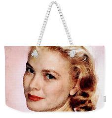 Grace Kelly, Vintage Actress Weekender Tote Bag