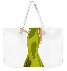 Weekender Tote Bag featuring the digital art Grace by Nancy Levan