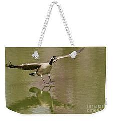 Graceful Goose Weekender Tote Bag