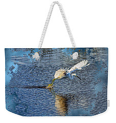 Weekender Tote Bag featuring the photograph Graceful Hunter 2 by John M Bailey