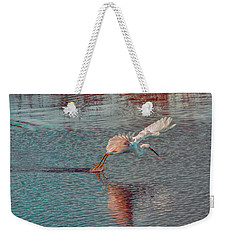 Weekender Tote Bag featuring the photograph Graceful Hunter by John M Bailey
