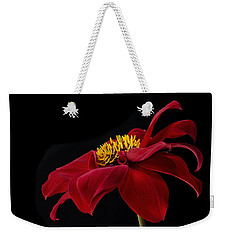 Graceful Red Weekender Tote Bag