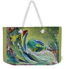 Graceful Swan Weekender Tote Bag