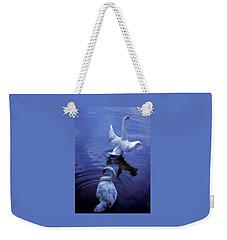 Graceful Swans Weekender Tote Bag