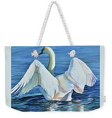 Graceful Warning Weekender Tote Bag
