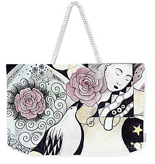 Gracefully - In Color Weekender Tote Bag