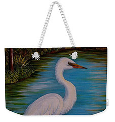 Gracefully Waiting Weekender Tote Bag