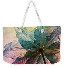 Weekender Tote Bag featuring the digital art Gracefulness by Klara Acel