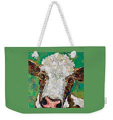 Gracies Cow Weekender Tote Bag