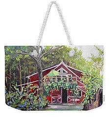 Gracie's Place At Ellijay River Vineyard - Ellijay, Ga Weekender Tote Bag