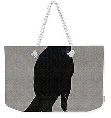 Grackle Looking Weekender Tote Bag