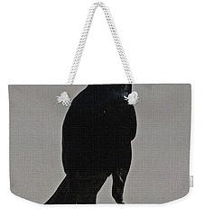 Grackle Looking Weekender Tote Bag by Tom Janca