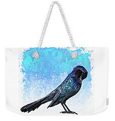 Grackle's Iridescence  Weekender Tote Bag