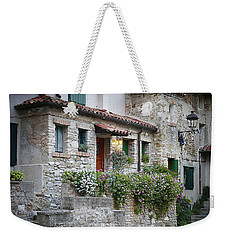 Weekender Tote Bag featuring the photograph Grado Antica by Evelyn Tambour