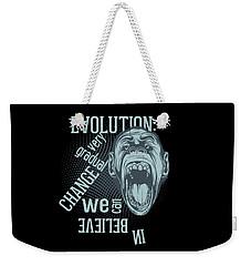 Weekender Tote Bag featuring the digital art Gradual Change  by Christopher Meade