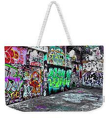 Graffiti Alley Weekender Tote Bag