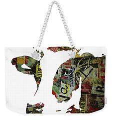 Graffiti Cow Abstract Modern Painting Pop Art Prints Poster  Robert Erod  Weekender Tote Bag