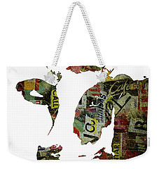 Graffiti Cow Abstract Modern Painting Pop Art Prints Poster  Robert Erod  Weekender Tote Bag