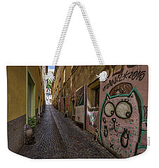 Graffiti In The Alley - Slovenia Weekender Tote Bag