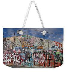 Graffiti Wall Weekender Tote Bag