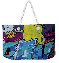 Graffiti_10 Weekender Tote Bag