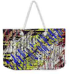 Graffitti Weekender Tote Bag by Cathy Beharriell