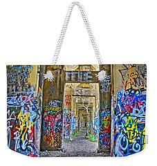 Grafiti Bridge To Nowhere Weekender Tote Bag