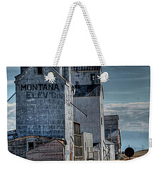 Grain Elevators, Wilsall Weekender Tote Bag
