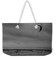 Grainy Wind Surf Weekender Tote Bag