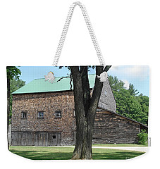 Grammie's Barn Through The Trees Weekender Tote Bag by Kerri Mortenson