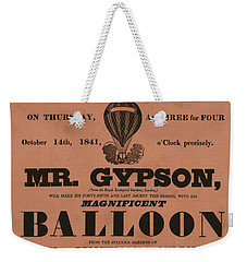 Grand Balloon Ascention Weekender Tote Bag