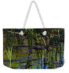 Grand Beach Marsh Weekender Tote Bag