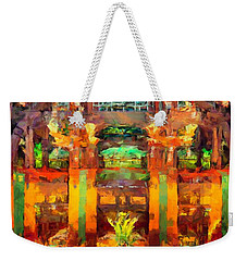 Grand Californian Resort Lobby Weekender Tote Bag