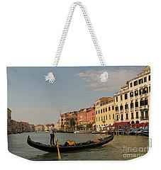 Grand Canal Gondola Weekender Tote Bag
