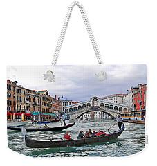 Grand Canal Scene  Weekender Tote Bag