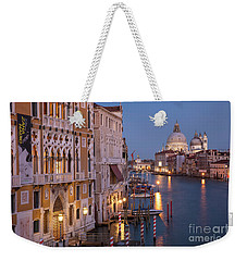 Weekender Tote Bag featuring the photograph Grand Canal Twilight by Brian Jannsen