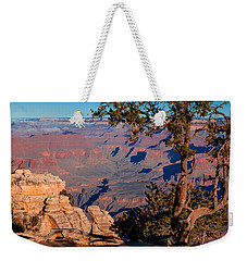 Weekender Tote Bag featuring the photograph Grand Canyon 20 by Donna Corless